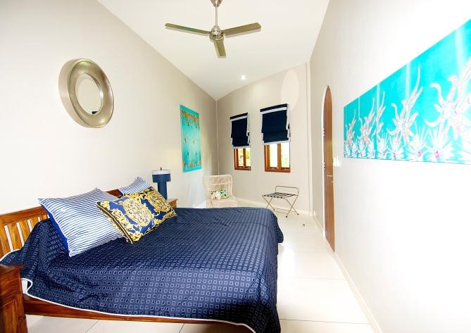 Bedroom of main suite