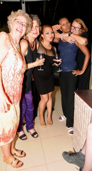 Sharyn,Shelley Clara, Haimi and Jill